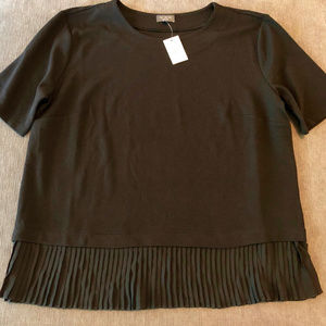 NWT The Limited Black Blouse XL